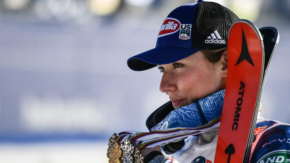 Mikaela Shiffrin & Co. müssen geimpft sein, um an den Olympischen Spielen in Peking teilzunehmen. © AFP / FABRICE COFFRINI