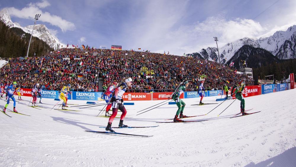 Die Antholz-Rennen finden wieder vor Zuschauern statt. © NordicFocus / NordicFocus