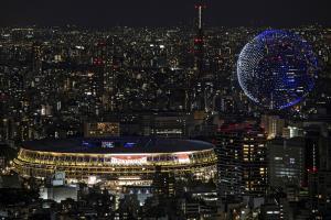 Ein Blick aufs Stadion. © APA/afp / CHARLY TRIBALLEAU