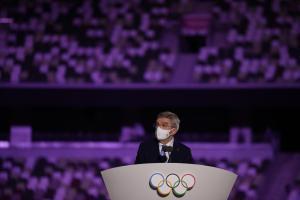 IOC-Präsident Thomas Bach. © APA/afp / HANNAH MCKAY